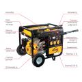 Бензиновый генератор Denzel DB5000Е с электрозапуском 94656