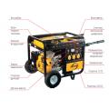 Бензиновый генератор Denzel DB6000Е с электрозапуском 94658
