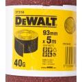 Лист шлифовальный в рулоне К40 (93х5000 мм) для виброшлифмашин Dewalt DT 3154