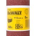 Лист шлифовальный в рулоне К60 (115х5000 мм) для виброшлифмашин Dewalt DT 3580