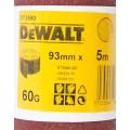 Лист шлифовальный в рулоне К60 (93х5000 мм) для виброшлифмашин Dewalt DT 3590