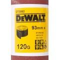 Лист шлифовальный в рулоне К120 (93х5000 мм) для виброшлифмашин Dewalt DT 3592
