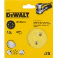 Круг шлифовальный 125мм К40 DeWalt DT 3111