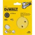 Круг шлифовальный 125мм К60 DeWalt DT 3112