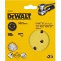 Круг шлифовальный 125мм К80 DeWalt DT 3113