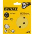 Круг шлифовальный 125мм К120 DeWalt DT 3115