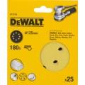 Круг шлифовальный 125мм К180 DeWalt DT 3116