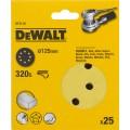 Круг шлифовальный 125мм К320 DeWalt DT 3118