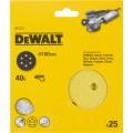 Круг шлифовальный 150мм К40 DeWalt DT 3131