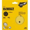 Круг шлифовальный 150мм К80 DeWalt DT 3133