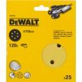 Круг шлифовальный 150мм К120 DeWalt DT 3135